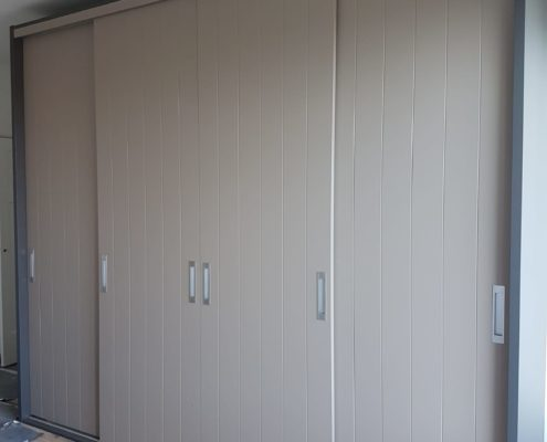 Inbouwkast met 4 deuren3